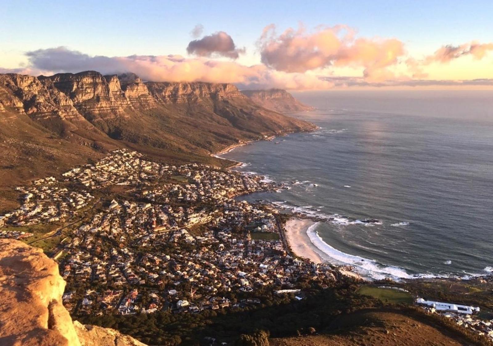 Elise Q en Afrique du Sud